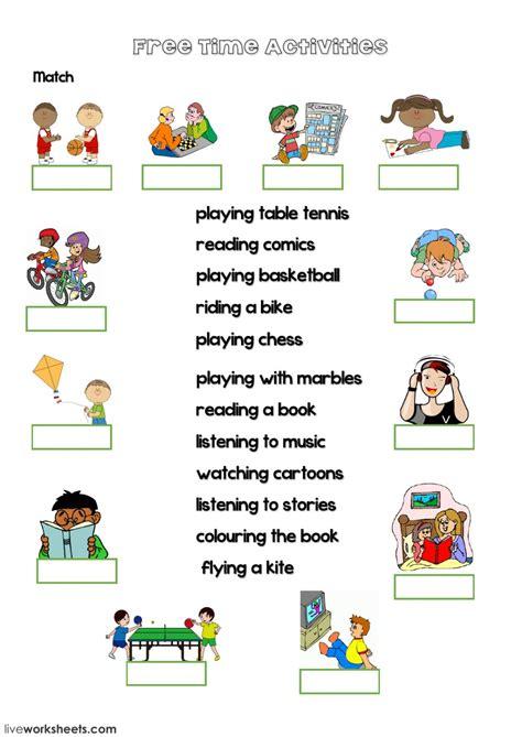time activities  video interactive worksheet