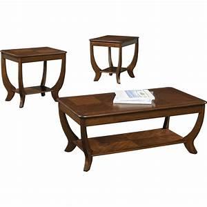 Rosalind Wheeler Pettigrew 3 Piece Coffee Table Set
