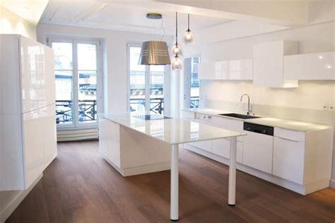 cuisine appartement parisien galaktik l 39 architecture d 39 intérieur commerciale et particuliers