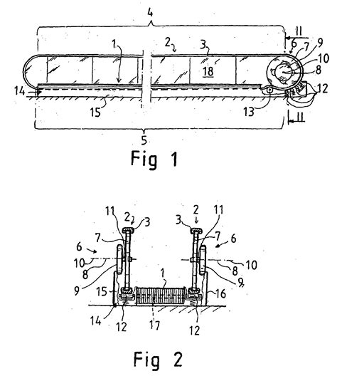 Patent EP1732835B1   Travelator, moving ramp or escalator