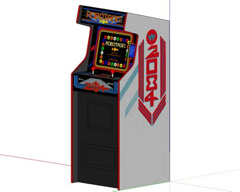 4 player arcade cabinet dimensions robotron build plans classic arcade cabinets