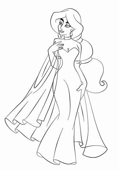 Coloring Princess Pages Jasmine Disney Popular