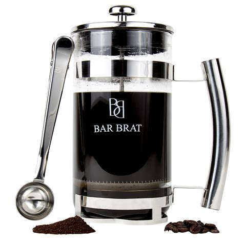 You can get the best discount of up to 100% off. French Press Coffee Maker by Bar Brat / Premium Stainless ...