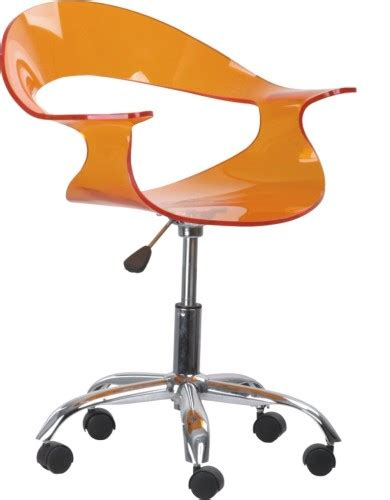 acrylic desk chair with wheels modern wheeled gas lift acrylic office chair seating desk