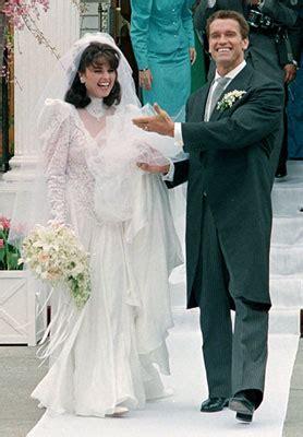Arnold Schwarzenegger and Maria Shriver Wedding