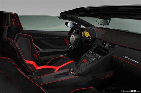 2017 Lamborghini Aventador Superveloce Roadster Lp750 4