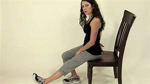 Seated Hamstring Stretch 1 - YouTube