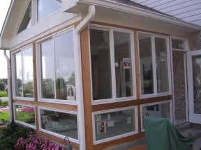 Heating A Screened Porch converting a screened porch into a 4 season room is an