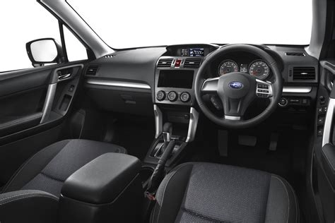 subaru forester interior revealed  full image
