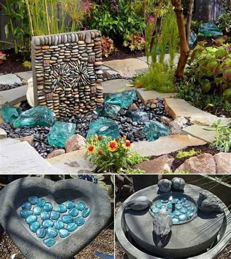 Diy Backyard Decorating Ideas by 21 Lovely Diy Ideas To Spice Up Garden With Pebbles