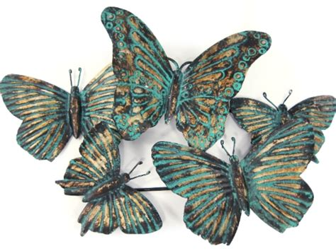 butterfly wall decor target reg 40 target home metal pattina butterfly wall in