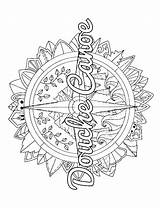 Coloring Compass Adult Pages Printable Word Swear Swearstressaway Colorarty Getcolorings Printables sketch template