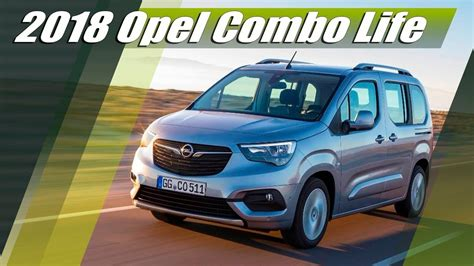 opel combo 2018 all new 2018 opel combo lav review