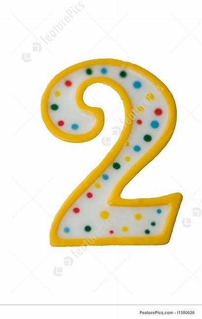 Number Birthday Candle Dots Clipart Yellow Clipground