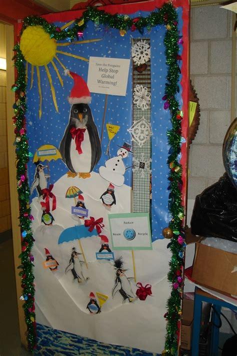 holiday door decorating idea school ideas  crafts