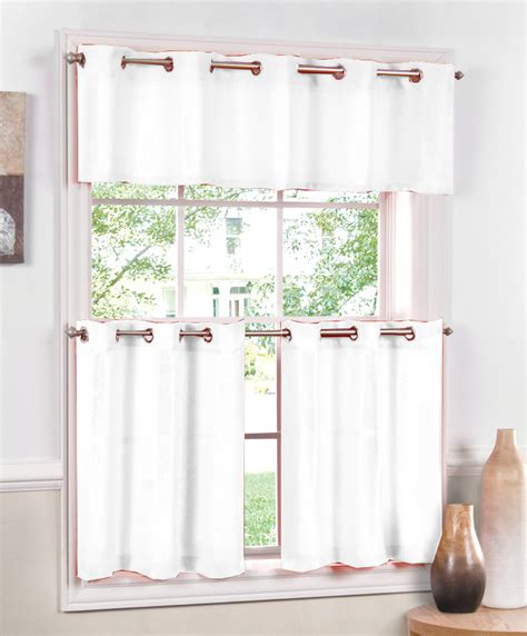 white kitchen curtains valances jackson curtains white lorraine cafe tier curtains