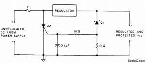 index 3 protection circuit control circuit circuit With crow bar circuit