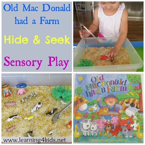 mac donald had a farm sensory box learning 4 690 | Old Mac Donald Had a Farm Activities for Kids and Toddlers1