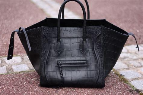 celine phantom bag  missing signature front logo spotted fashion