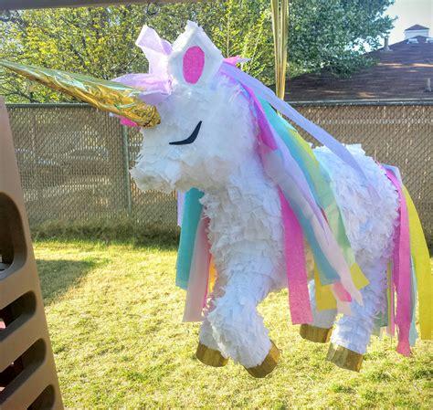 rainbow unicorn pinata boy