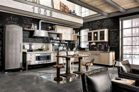 vintage  industrial style kitchens  marchi cucine