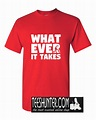 Whatever Suit It Takes T-Shirt