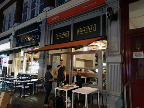 Freak Scene, an Asian fusion pop up in Clerkenwell   The