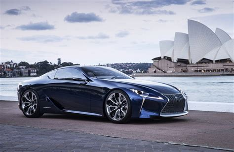 lexus lf lexus lf lc inspired production car confirmed not lfa