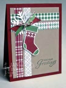 Cute Christmas Card Idea Stampin Up