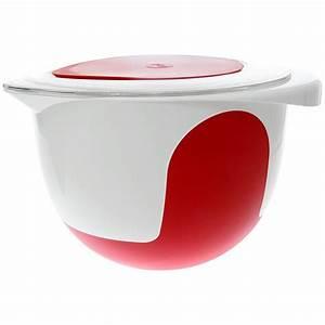 Rührschüssel Mit Deckel : emsa mix bake r hrsch ssel mit deckel 2 0 l wei rot ~ Eleganceandgraceweddings.com Haus und Dekorationen