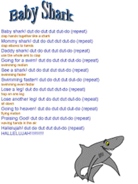 preschool shark song baby shark 651