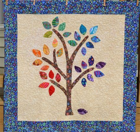 Applique Quilting by Happee Tree Quilt Pattern Pdf Applique The Easy Way Pdf