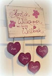 Türschilder Holz Familie : t rschilder kido shop merken pinterest ~ Lizthompson.info Haus und Dekorationen