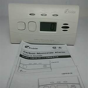 Kidde Carbon Monoxide Alarm C3010