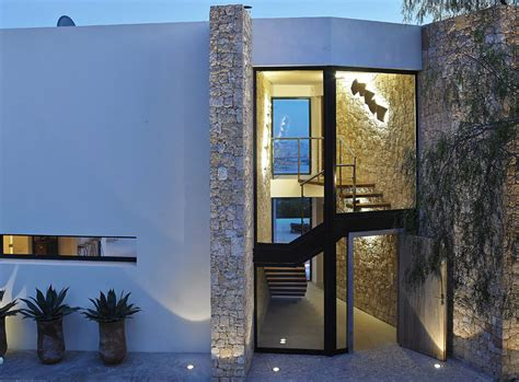 modern villa  spectacular sea views  ibiza spain