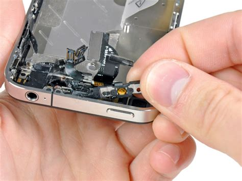 iphone lock button not working iphone 4 power lock button replacement ifixit repair guide