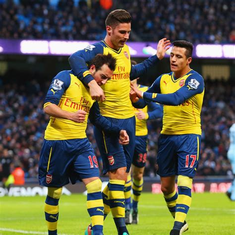 Manchester City vs. Arsenal: Tactical Review of Premier ...