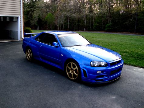 Nissan Skyline Gt R R34 1999 On Motoimgcom