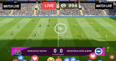 Live Football – Newcastle United vs Brighton – Live ...