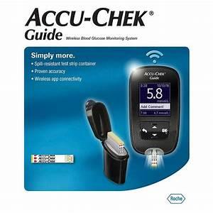 Accu Chek Guide Wireless Blood Glucose Meter Monitoring