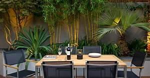 bambou deco 40 idees pour un decor jardin avec du bambou With decoration terrasse avec bambou