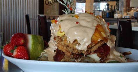 Hash House A Go Go - this chain serves up ways to eat breakfast all day