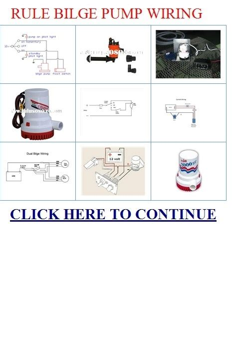 rule mate 1100 wiring diagram rule automatic bilge pump