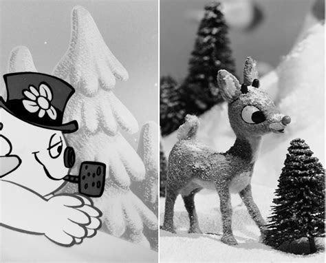 holiday tv   older rudolph  red nosed