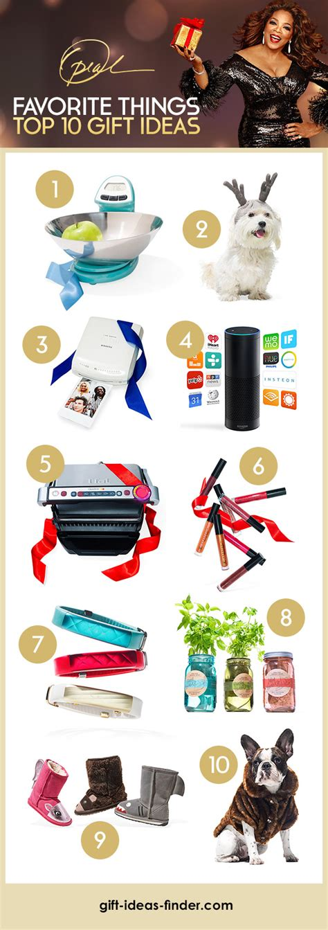 top 10 gift ideas from oprah s favorite things list gift