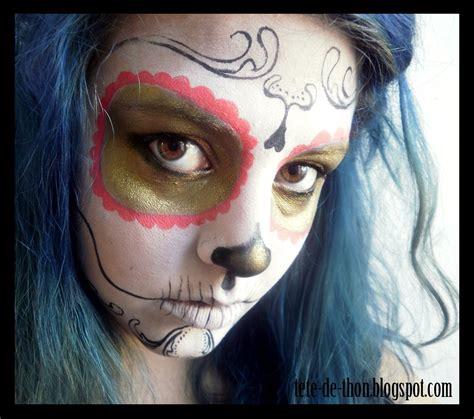 maquillage calavera t 234 te de mort t 234 te de