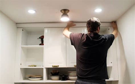 trim around kitchen cabinets how to trim out ikea cabinets chris loves julia