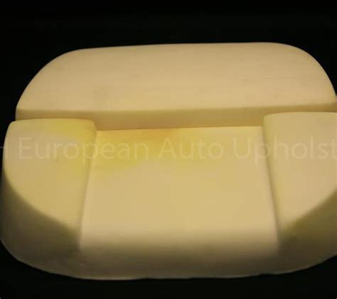 Jaguar EType Series 1 Bucket Seat Cushion Molded Foam