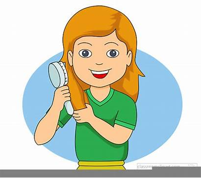 Clipart Brush Hair Clip Clker Domain