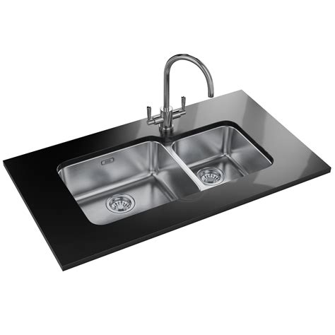 franke stainless steel undermount kitchen sinks franke largo lax 120 45 30 stainless steel 1 5 bowl 8265